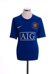 2008-09 Manchester United Third Shirt XL.Boys