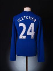 2008-09 Manchester United Shirt Fletcher #24 *BNWT* L/S L