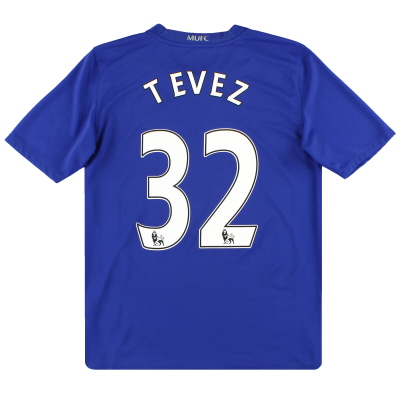 2008-09 Manchester United Third Shirt Tevez #32 XL.Boys