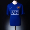 2008-09 Manchester United Third Shirt Berbatov #9 XL