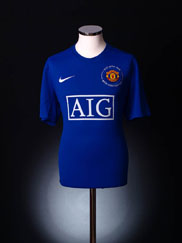 2008-09 Manchester United Third Shirt L.Boys