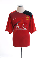 2008-09 Manchester United Training Shirt XL.Boys