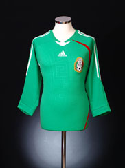 2008-09 Mexico Home Shirt L