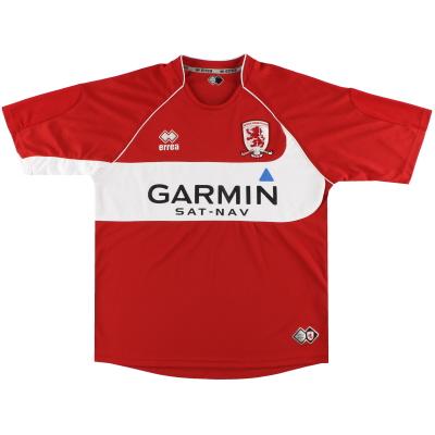 2008-09 Middlesbrough Errea Home Shirt M