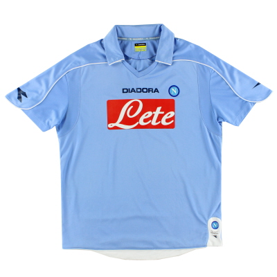 2008-09 Napoli Home Shirt S