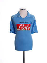 2008-09 Napoli Home Shirt M