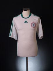 2008-09 Nigeria Away Shirt L