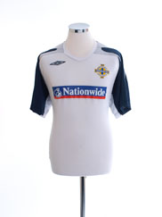 2008-09 Northern Ireland Umbro Training Shirt L