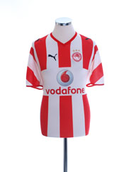 2008-09 Olympiakos Home Shirt M