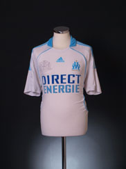 2008-09 Olympique Marseille Home Shirt L