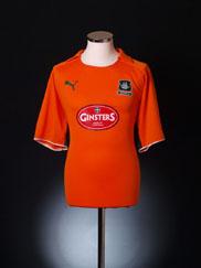 2008-09 Plymouth Away Shirt L