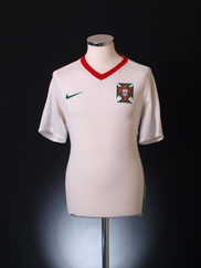 2008-09 Portugal Away Shirt XL