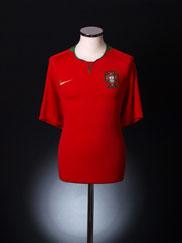 2008-09 Portugal Home Shirt XL.Boys
