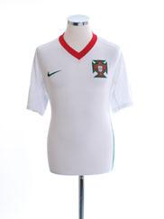 2008-09 Portugal Home Shirt M