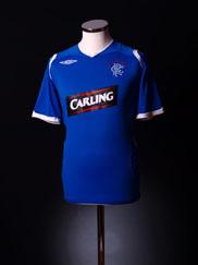 2008-09 Rangers Home Shirt L