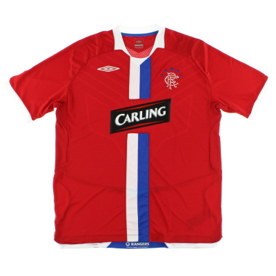 2008-09 Rangers Third Shirt *Mint* L