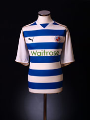 2008-09 Reading Home Shirt L