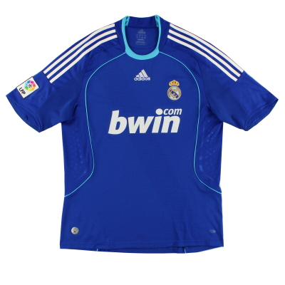 2008-09 Real Madrid Away Shirt L
