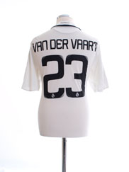 2008-09 Real Madrid Home Shirt van der Vaart #23 L