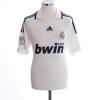 2008-09 Real Madrid Home Shirt van der Vaart #23 L