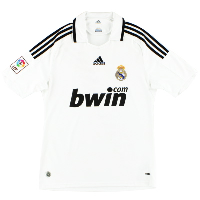 2008-09 Real Madrid adidas Home Shirt XL