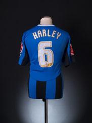 2008-09 Rochdale Home Shirt Harley #6 M