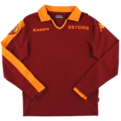 2008-09 Roma Kappa Polo Top L/S M