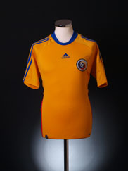 2008-09 Romania Home Shirt M