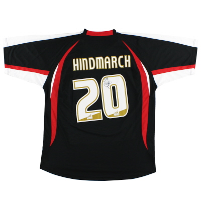 2008-09 Shrewsbury Signed Away Shirt Hindmarch #20 XL