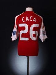 2008-09 South China Match Issue Home Shirt Caca #26