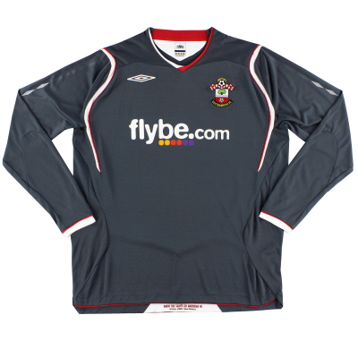 2008-09 Southampton Away Shirt L/S XL