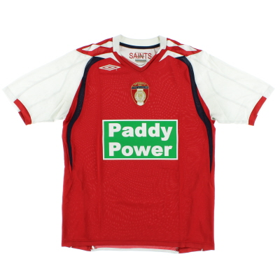 2008-09 St Patrick's Athletic Home Shirt M