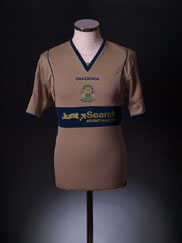 2008-09 Stockport County Third Shirt *Mint* S