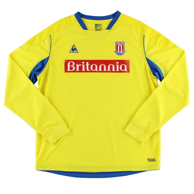 2008-09 Stoke City Away Shirt L/S XL