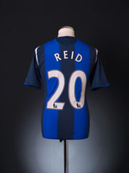 2008-09 Sunderland Away Shirt Reid #20 M