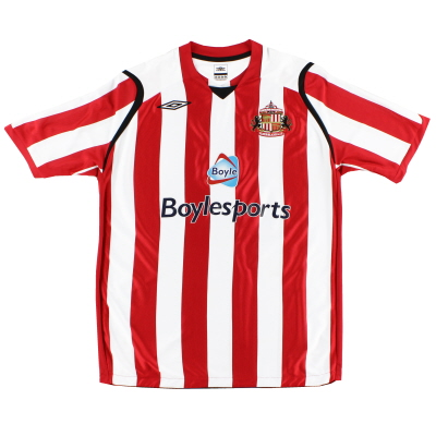 2008-09 Sunderland Umbro Home Shirt XL