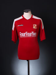 2008-09 Swindon Town Home Shirt L