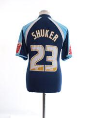 2008-09 Tranmere Rovers Away Shirt Shuker #23 M