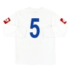 2008-09 US Pergocrema Away Shirt #5 L/S L