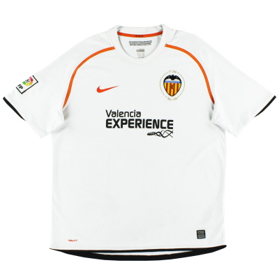 2008-09 Valencia Home Shirt XL