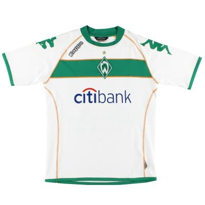 2008-09 Werder Bremen Home Shirt L