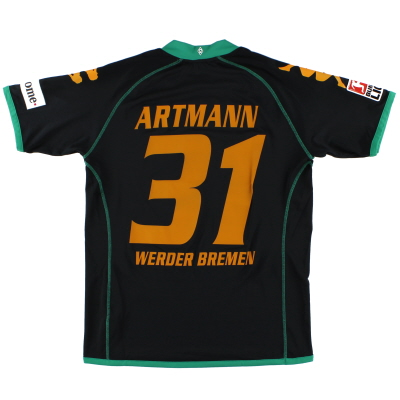 2008-09 Werder Bremen Third Shirt Artmann #31 L