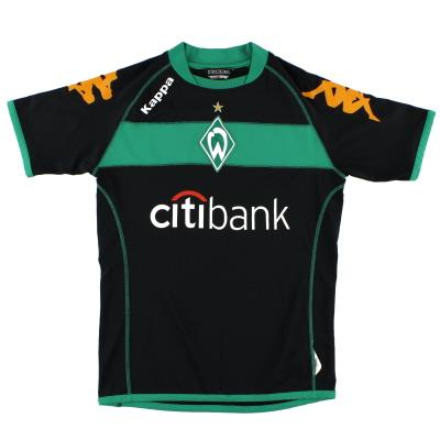 2008-09 Werder Bremen Kappa Third Shirt XXL.Boys