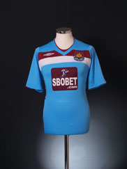 2008-09 West Ham Away Shirt M