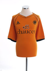 2006-08 Wolves Home Shirt L