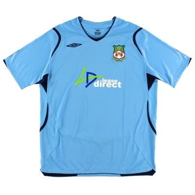2008-09 Wrexham Umbro Away Shirt XL