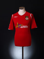 2008-09 Wrexham Home Shirt M