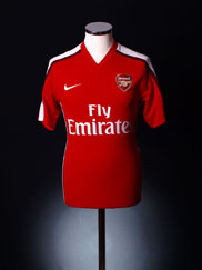 2008-10 Arsenal Home Shirt *As New* XL
