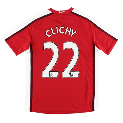 2008-10 Arsenal Home Shirt Clichy #22 M