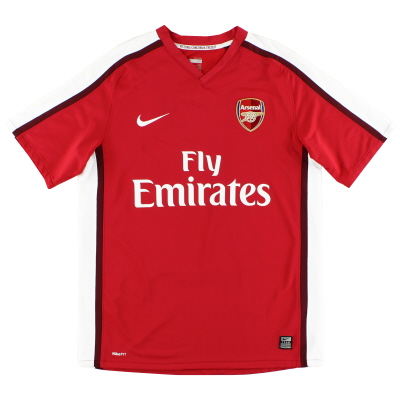 2008-10 Arsenal Home Shirt L.Boys